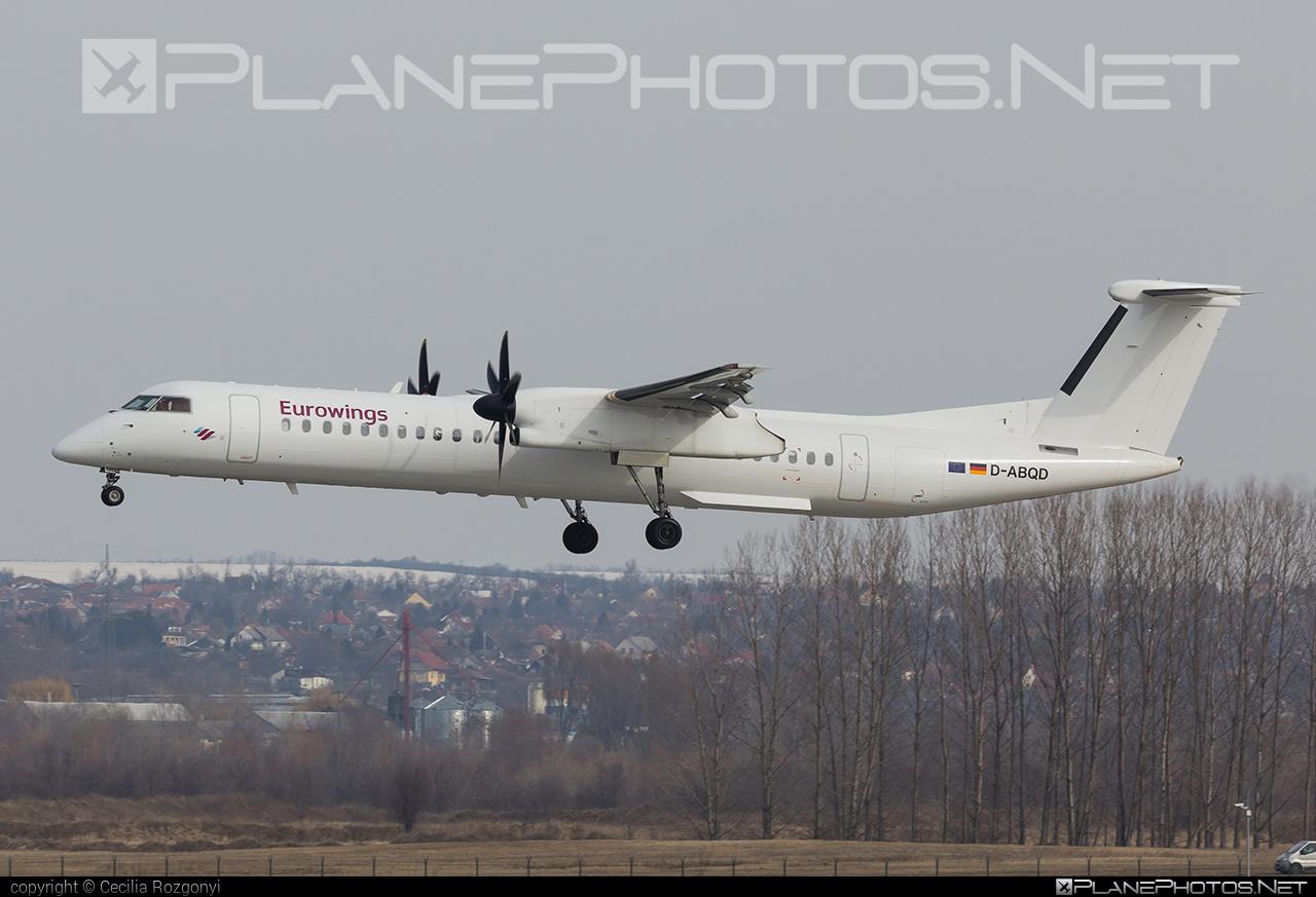 LGW Luftfahrtgesellschaft Walter Bombardier DHC-8-Q402 Dash 8 - D-ABQD #bombardier #lgw #luftfahrtgesellschaftwalter