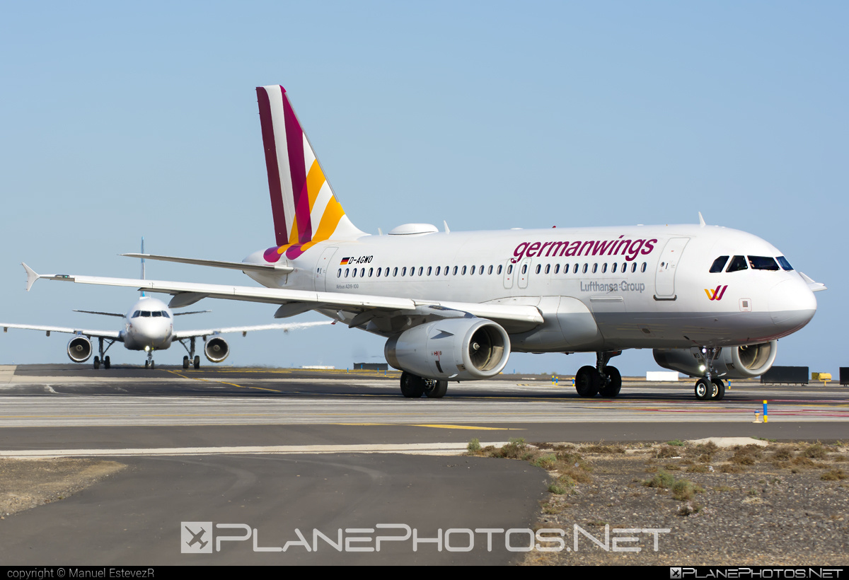 Airbus A319-132 - D-AGWO operated by Germanwings #a319 #a320family #airbus #airbus319