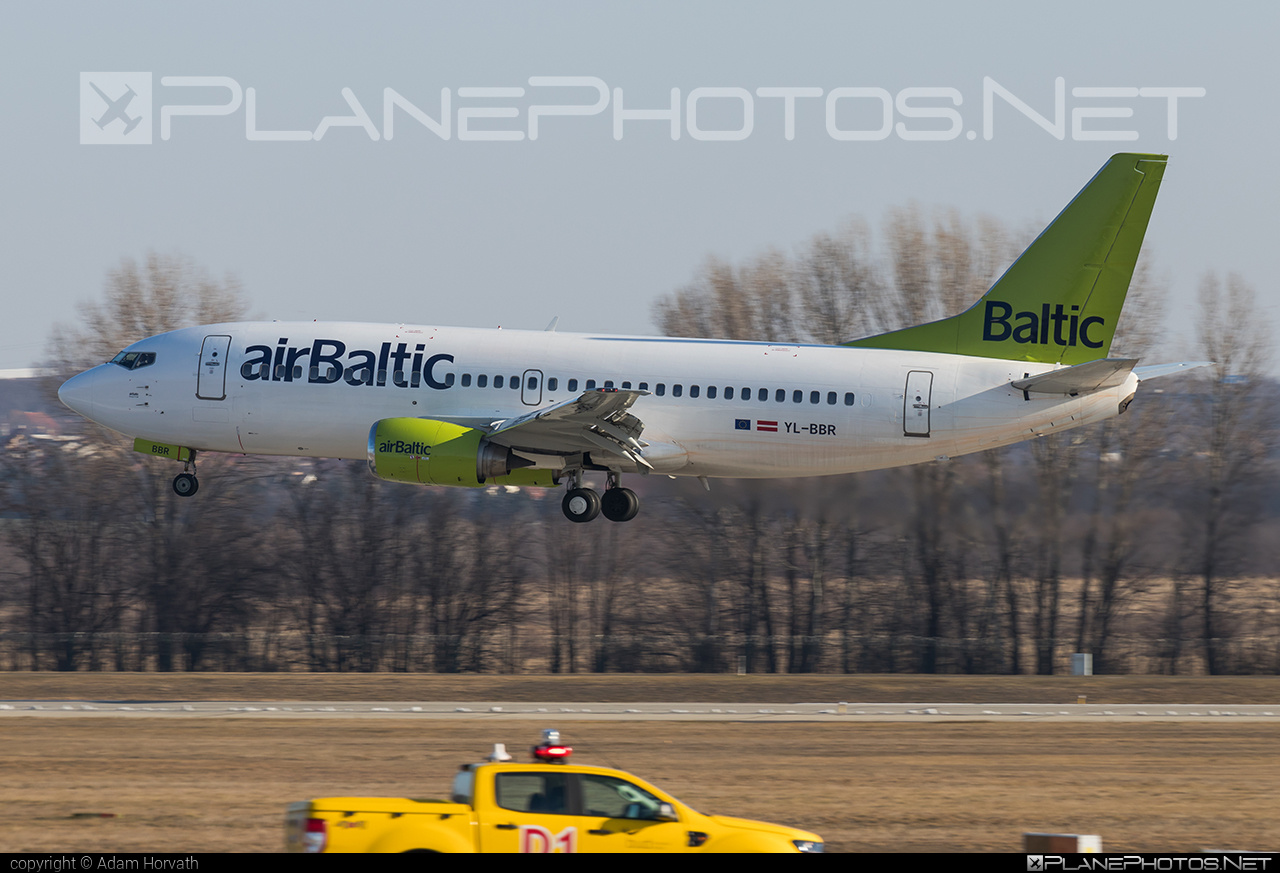 Boeing 737-300 - YL-BBR operated by Air Baltic #airbaltic #b737 #boeing #boeing737
