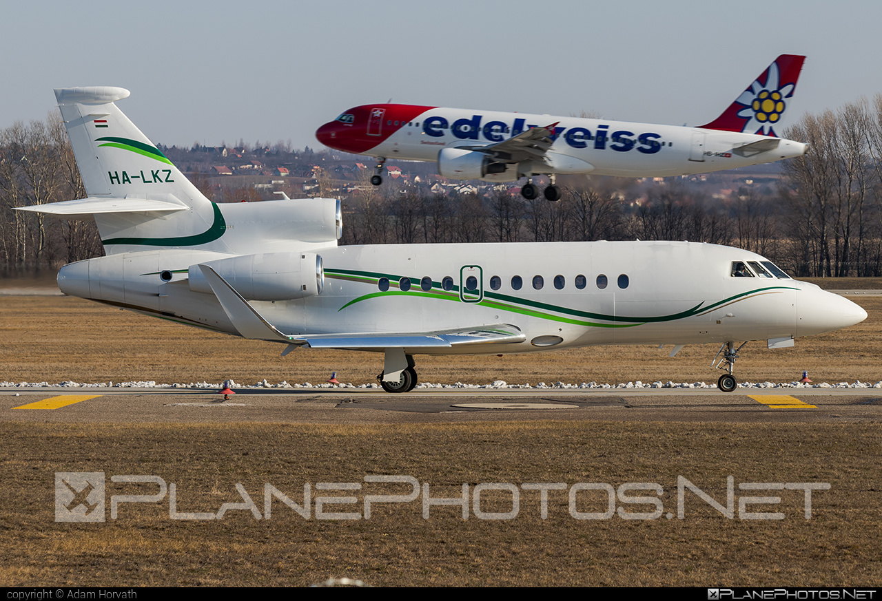 Dassault Falcon 900LX - HA-LKZ operated by Private operator #dassault