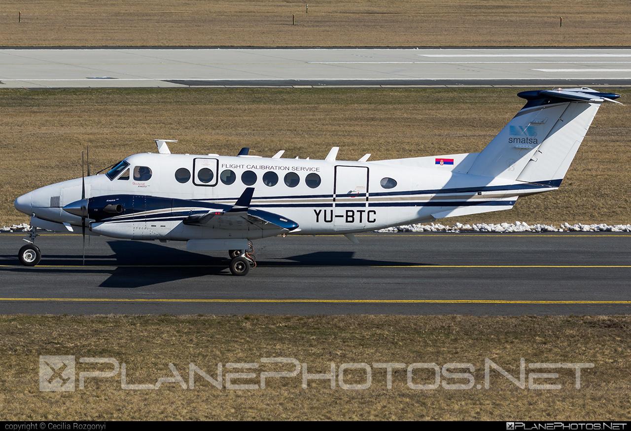Serbia and Montenegro Air Traffic Services Agency (SMATSA) Beechcraft B300 King Air 350 - YU-BTC #beechcraft