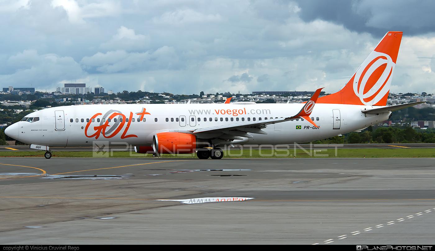 Boeing 737-800 - PR-GUI operated by GOL Linhas Aéreas Inteligentes #b737 #b737nextgen #b737ng #boeing #boeing737