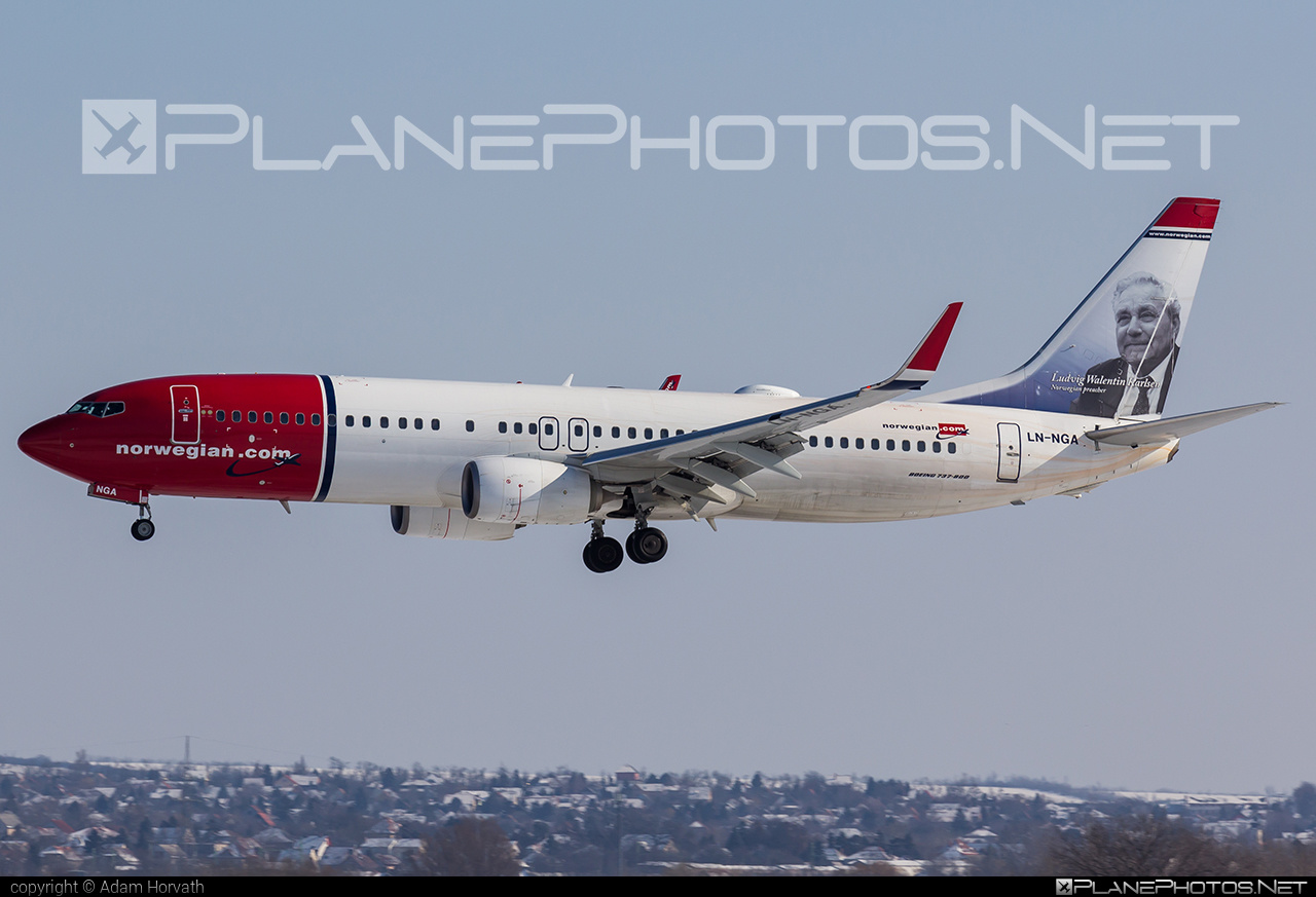 Boeing 737-800 - LN-NGA operated by Norwegian Air Shuttle #b737 #b737nextgen #b737ng #boeing #boeing737 #norwegian #norwegianair #norwegianairshuttle