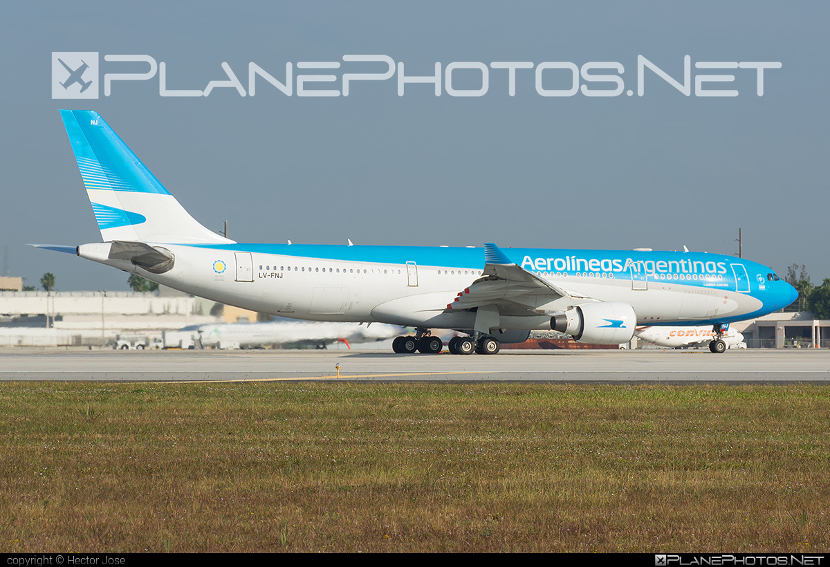 Airbus A330-223 - LV-FNJ operated by Aerolíneas Argentinas #a330 #a330family #airbus #airbus330