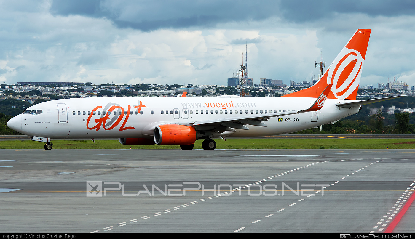 Boeing 737-800 - PR-GXL operated by GOL Linhas Aéreas Inteligentes #b737 #b737nextgen #b737ng #boeing #boeing737