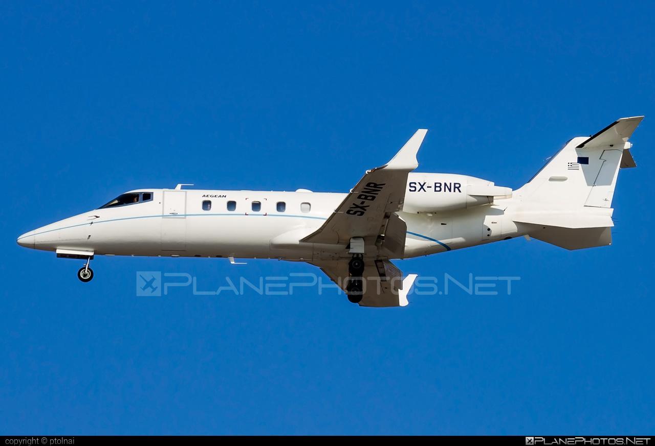 Bombardier Learjet 60 - SX-BNR operated by Aegean Airlines #bombardier #learjet #learjet60