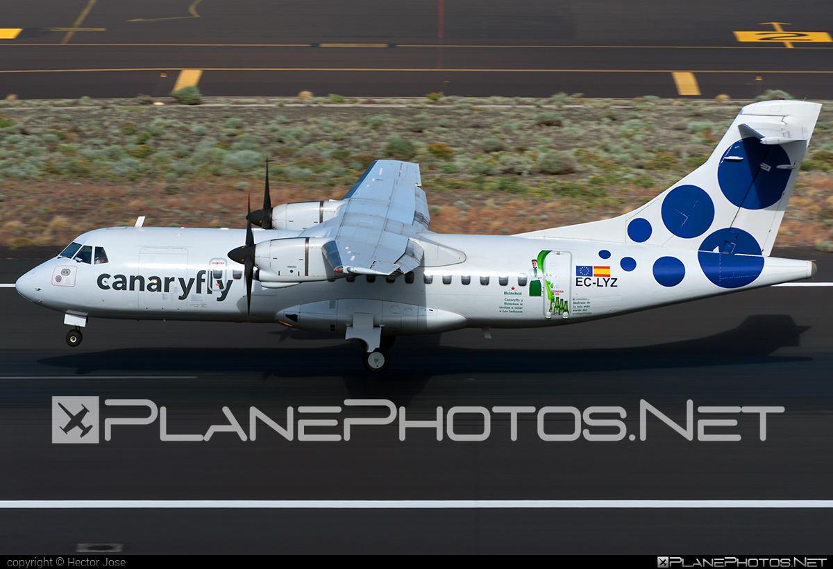 ATR 42-300 - EC-LYZ operated by Canaryfly #atr #atr42 #atr42300