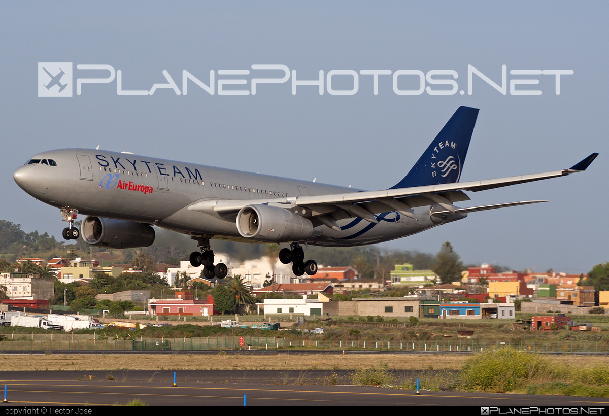 Airbus A330-243 - EC-LNH operated by Air Europa #a330 #a330family #airbus #airbus330 #skyteam