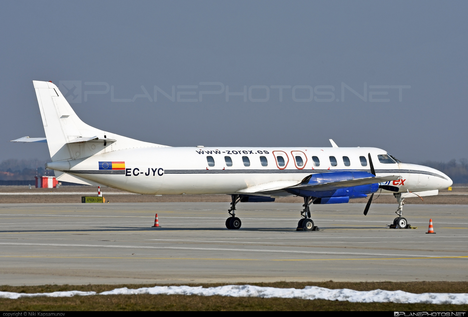 Fairchild SA226-TC Metro II - EC-JYC operated by ZOREX S.A #fairchild #metro