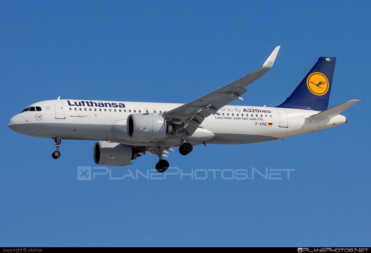 Airbus A320-271N - D-AIND operated by Lufthansa #a320 #a320family #a320neo #airbus #airbus320 #lufthansa