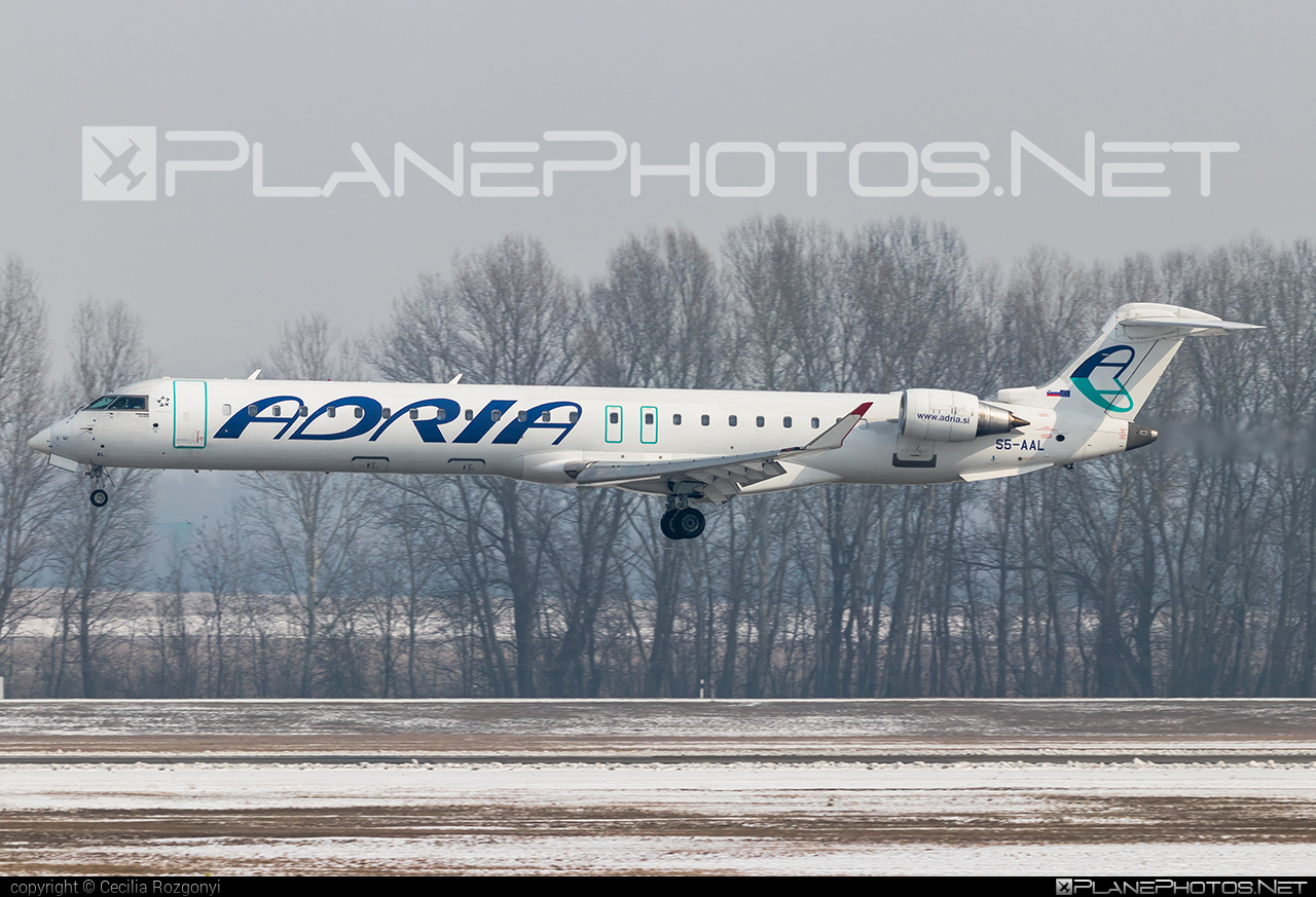 Bombardier CRJ900LR - S5-AAL operated by Adria Airways #bombardier #crj900 #crj900lr