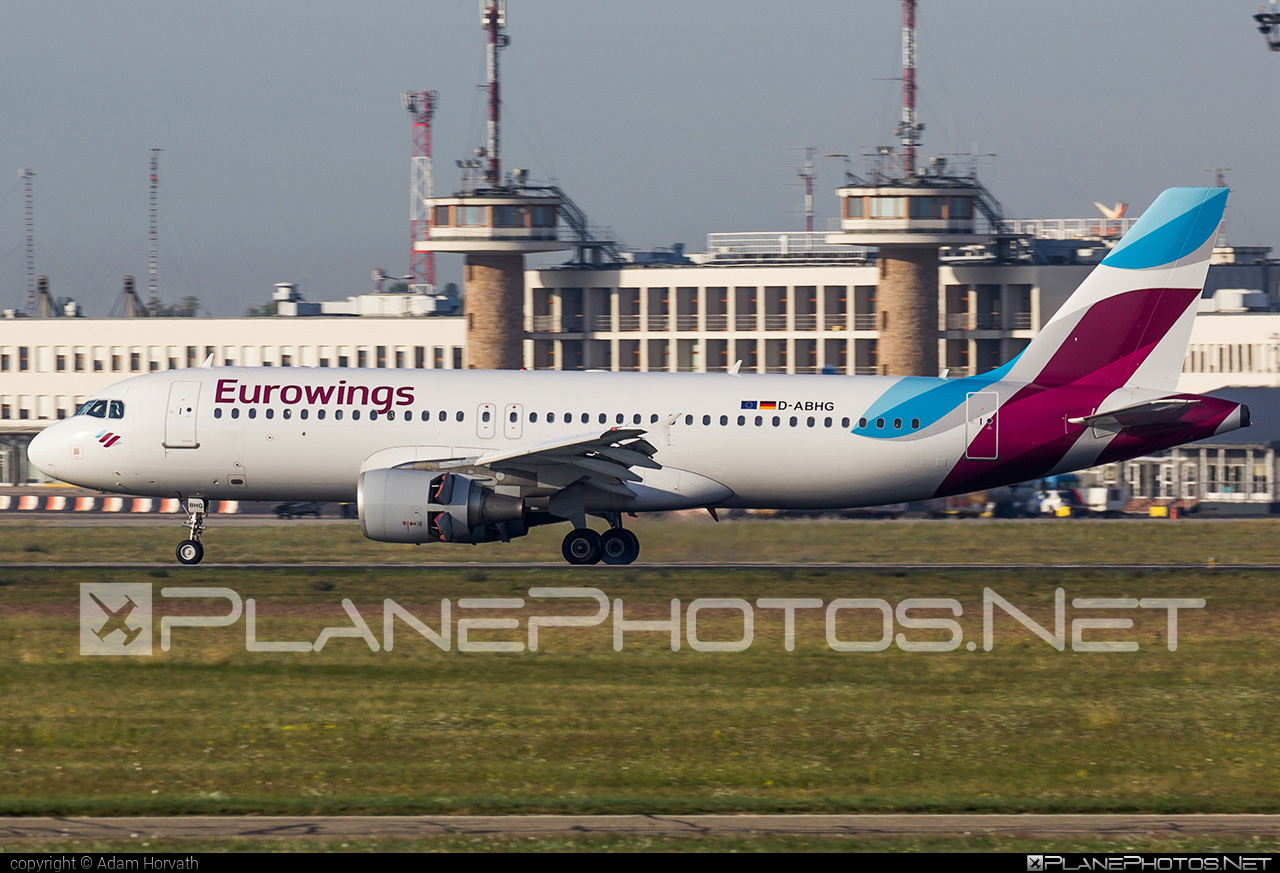 Airbus A320-214 - D-ABHG operated by Eurowings #a320 #a320family #airbus #airbus320 #eurowings