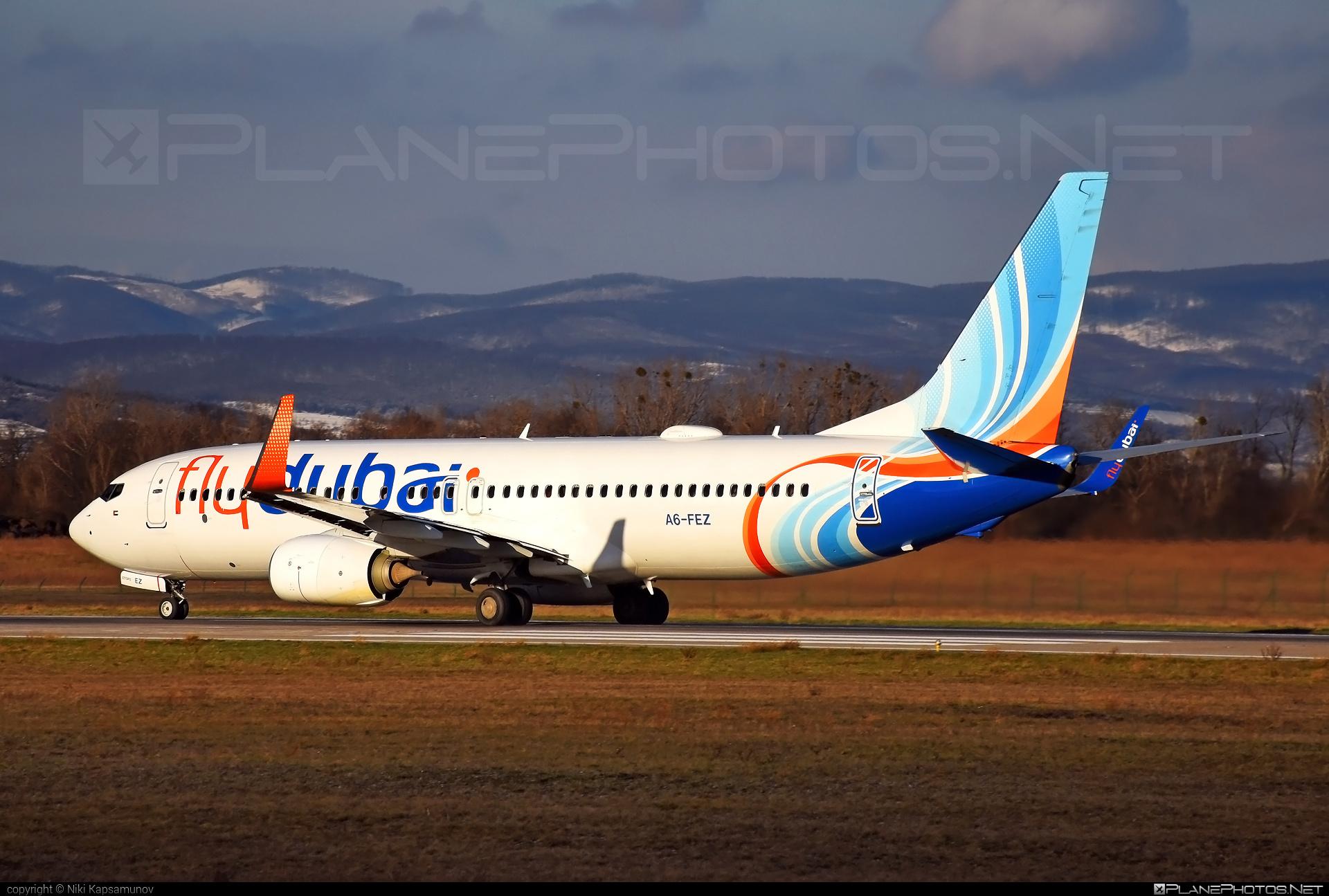 Boeing 737-800 - A6-FEZ operated by flydubai #b737 #b737nextgen #b737ng #boeing #boeing737