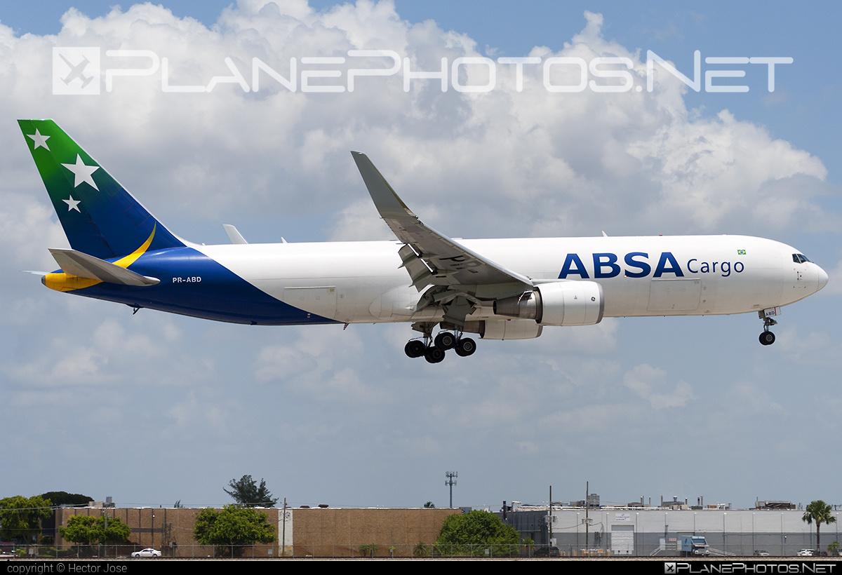 ABSA Cargo Airline Boeing 767-300F - PR-ABD #b767 #b767f #b767freighter #boeing #boeing767