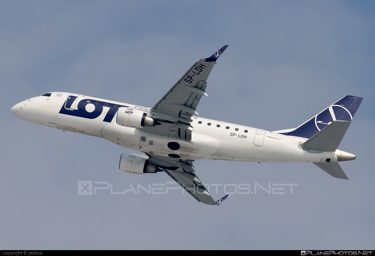 Embraer E170LR (ERJ-170-100LR) - SP-LDH operated by LOT Polish Airlines #e170 #embraer #embraer170 #embraer170lr #erj170 #erj170100 #erj170100lr #erj170lr #lot #lotpolishairlines