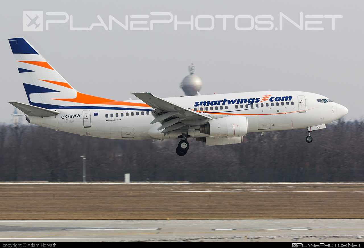 Boeing 737-700 - OK-SWW operated by Smart Wings #b737 #b737nextgen #b737ng #boeing #boeing737 #smartwings