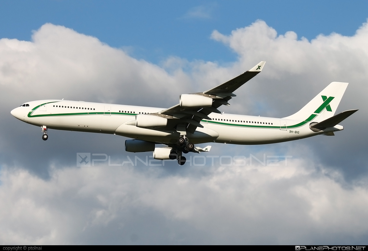 Airbus A340-313 - 9H-BIG operated by Air X Charter #a340 #a340family #airbus #airbus340