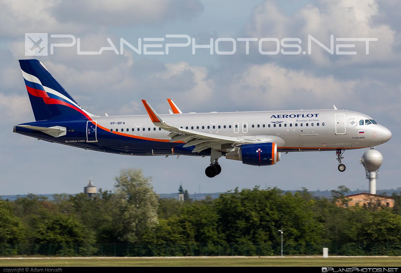 Airbus A320-214 - VP-BFA operated by Aeroflot #a320 #a320family #aeroflot #airbus #airbus320