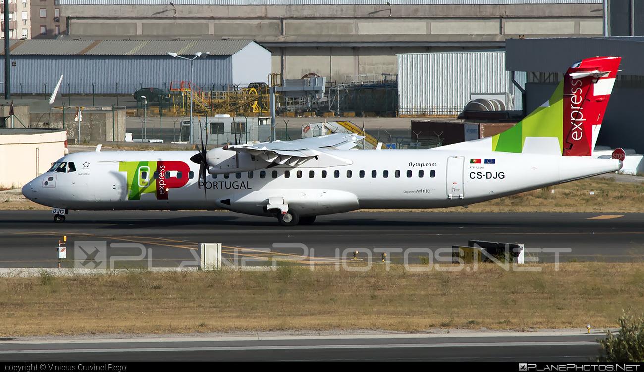 ATR 72-600 - CS-DJG operated by TAP Express #atr