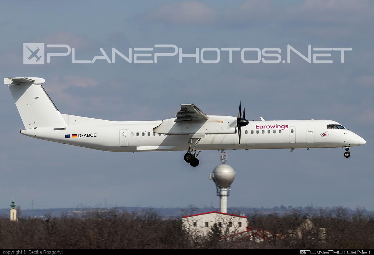 LGW Luftfahrtgesellschaft Walter Bombardier DHC-8-Q402 Dash 8 - D-ABQE #bombardier #lgw #luftfahrtgesellschaftwalter