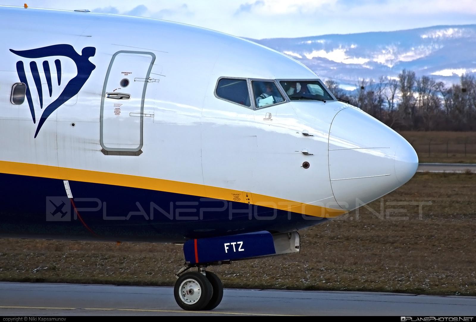 Ryanair Boeing 737-800 - EI-FTZ #b737 #b737nextgen #b737ng #boeing #boeing737 #ryanair