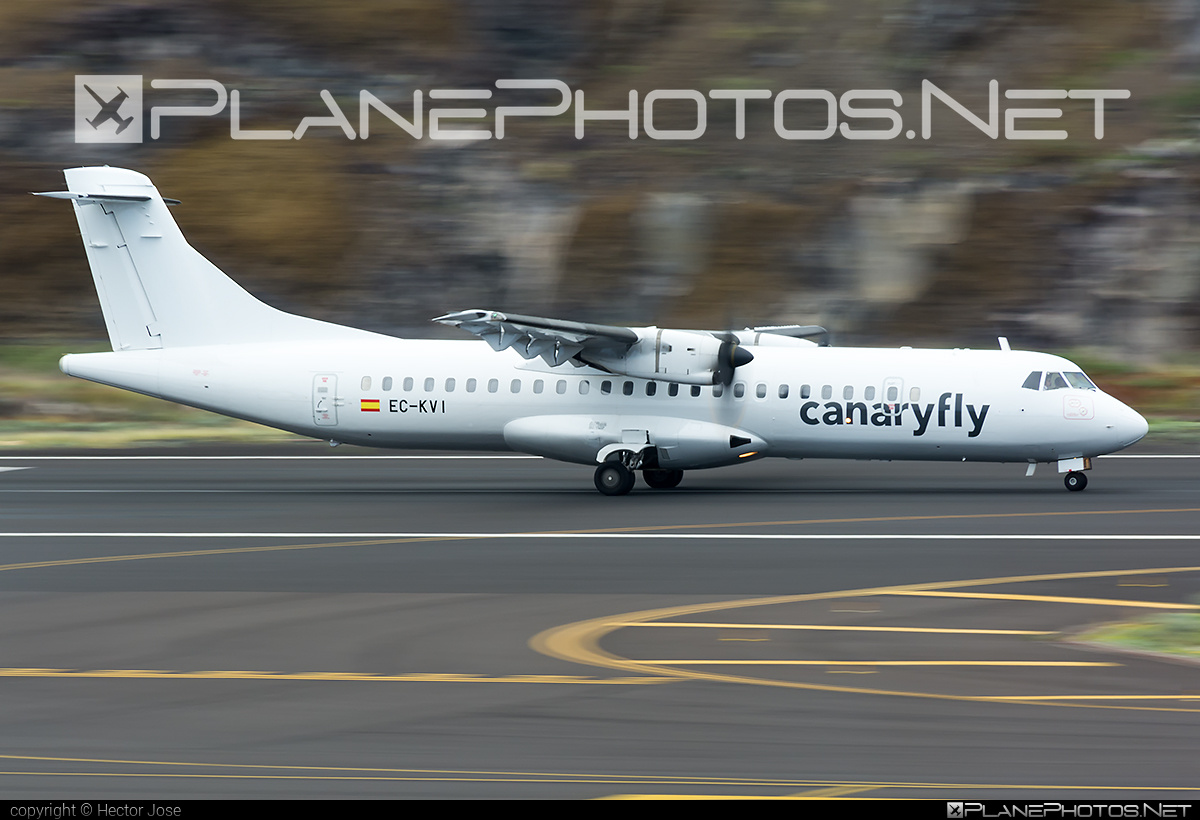 ATR 72-212A - EC-KVI operated by Canaryfly #atr