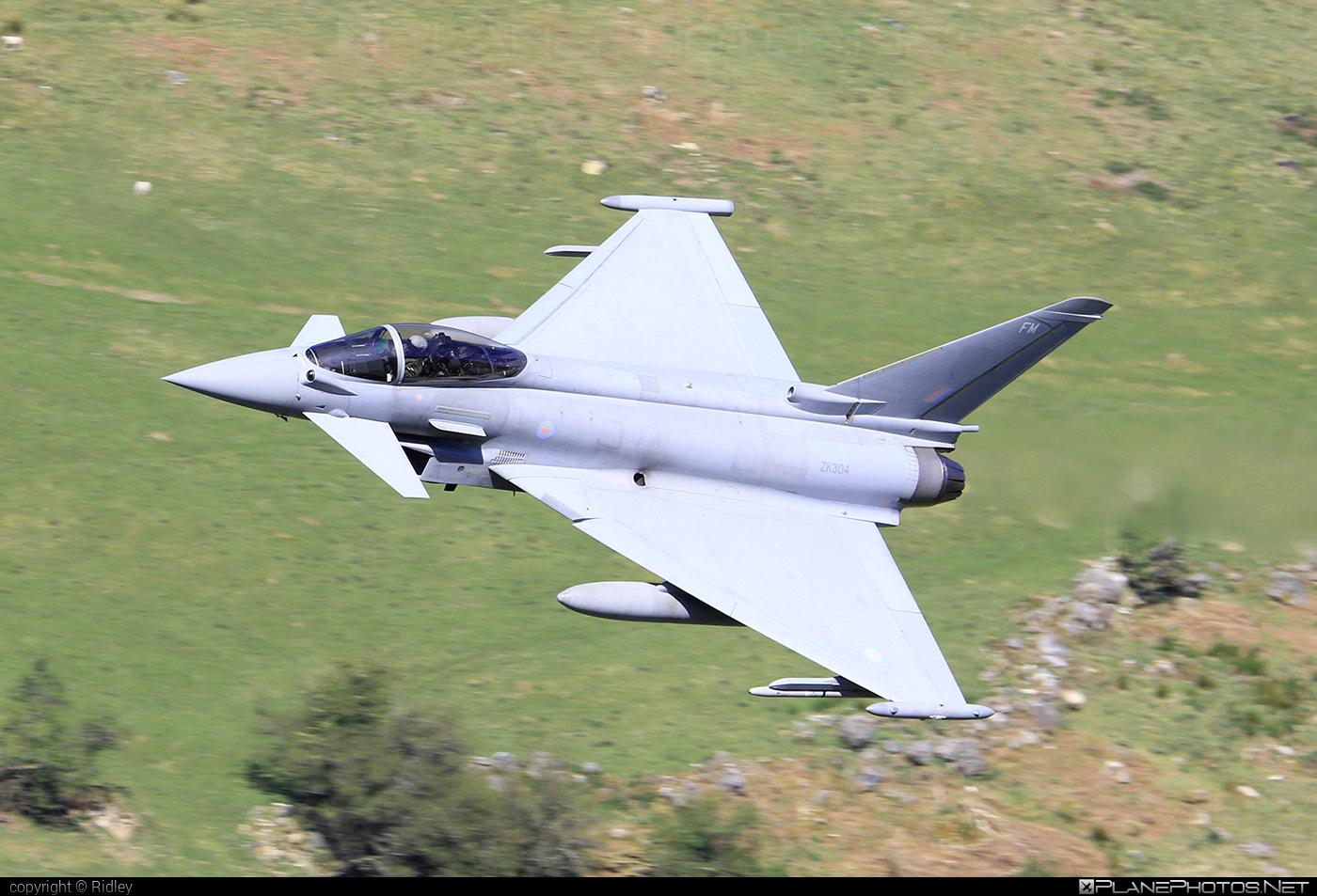 Eurofighter Typhoon FGR.4 - ZK304 operated by Royal Air Force (RAF) #eurofighter #machloop #raf #royalairforce #typhoon