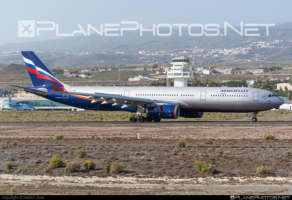 Airbus A330-343 - VQ-BMY operated by Aeroflot #a330 #a330family #aeroflot #airbus #airbus330