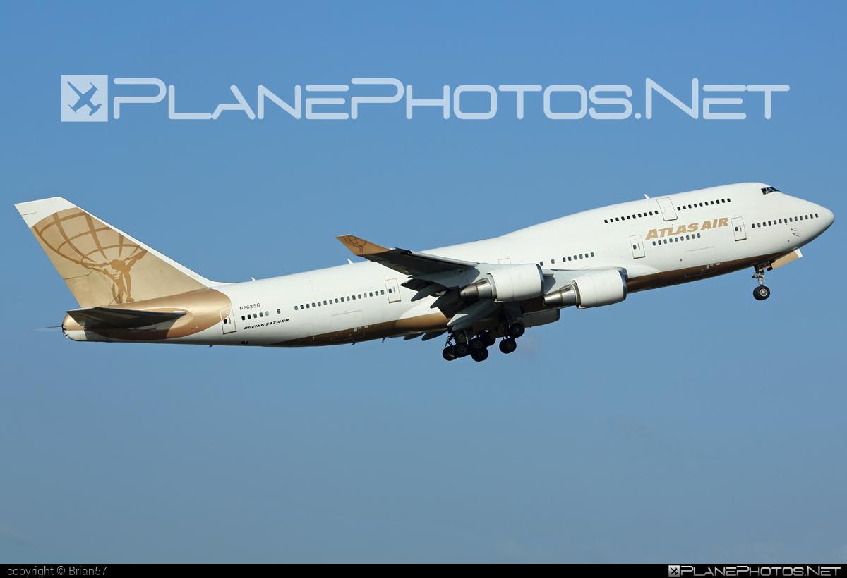 Boeing 747-400 - N263SG operated by Atlas Air #b747 #boeing #boeing747 #jumbo