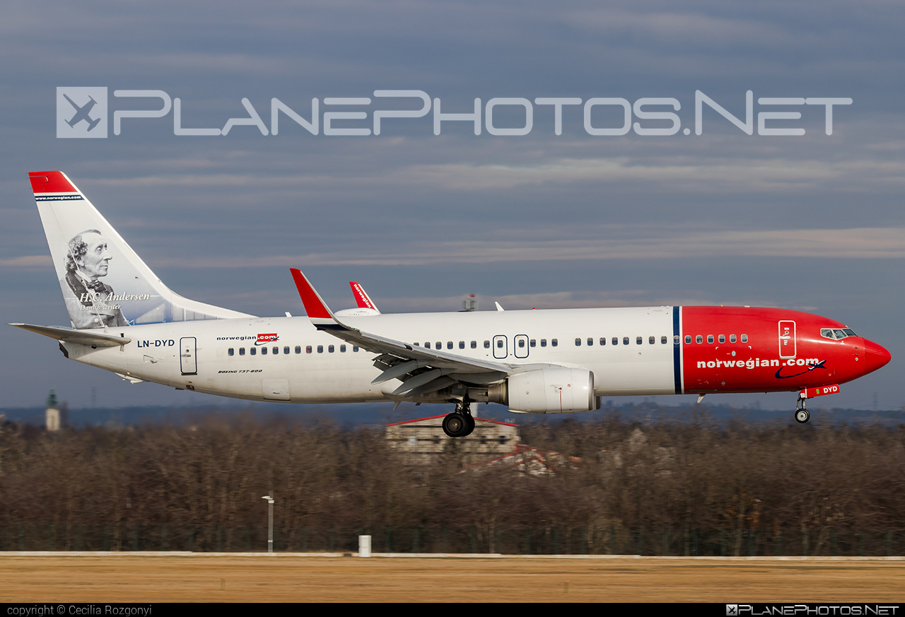 Boeing 737-800 - LN-DYD operated by Norwegian Air Shuttle #b737 #b737nextgen #b737ng #boeing #boeing737 #norwegian #norwegianair #norwegianairshuttle