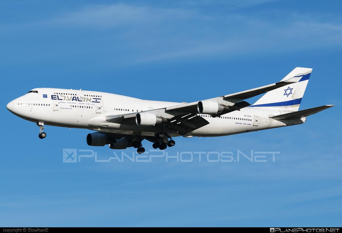 Boeing 747-400 - 4X-ELE operated by El Al Israel Airlines #b747 #boeing #boeing747 #elal #elalisraelairlines #israelairlines #jumbo