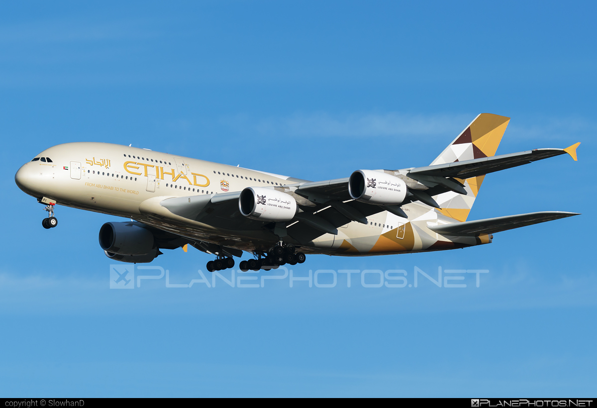 Airbus A380-861 - A6-API operated by Etihad Airways #a380 #a380family #airbus #airbus380 #etihad #etihadairways