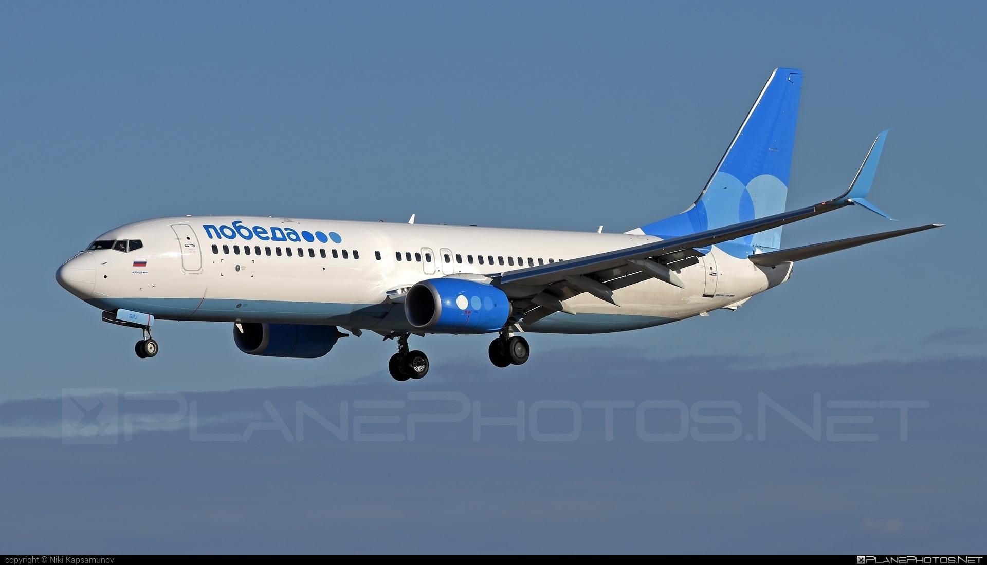 Boeing 737-800 - VP-BPJ operated by Pobeda #b737 #b737nextgen #b737ng #boeing #boeing737