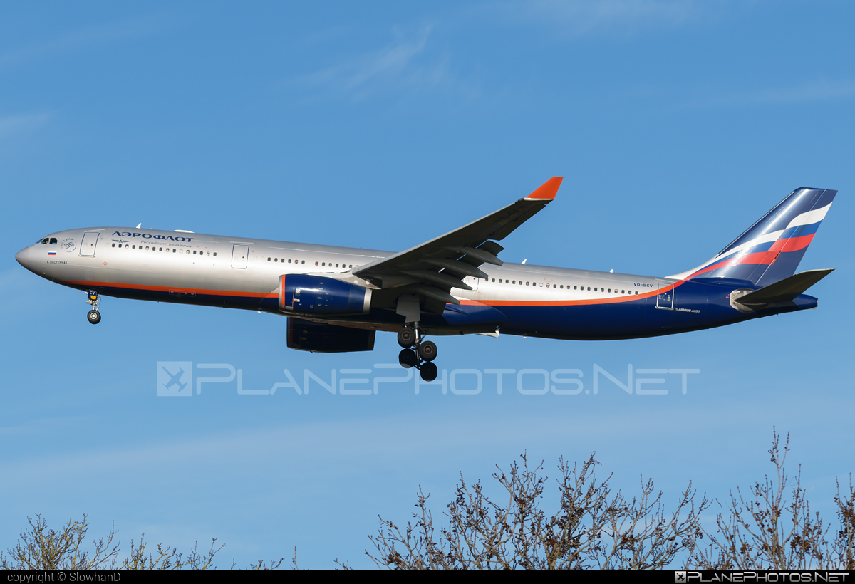 Airbus A330-343 - VQ-BCV operated by Aeroflot #a330 #a330family #aeroflot #airbus #airbus330