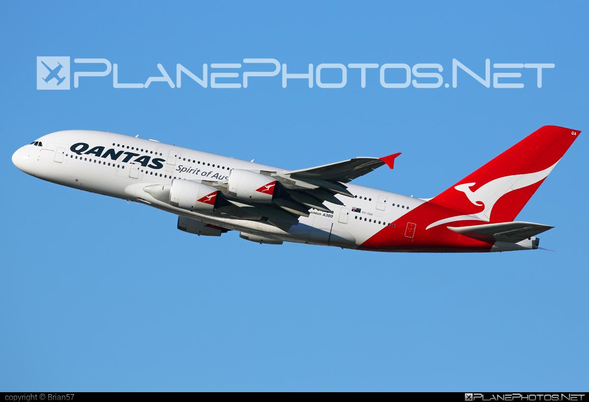Qantas Airbus A380-842 - VH-OQA #a380 #airbus #qantas