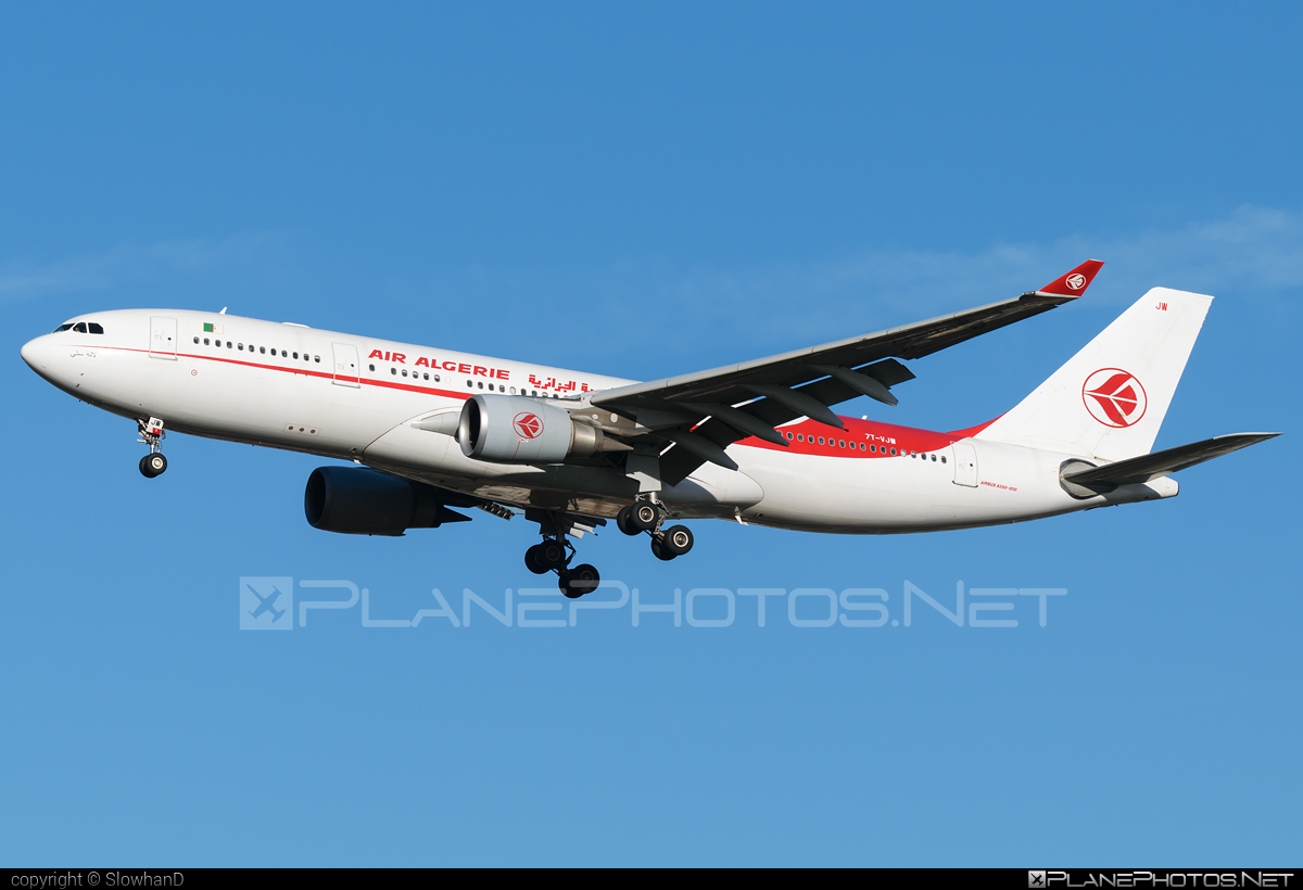Airbus A330-202 - 7T-VJW operated by Air Algerie #a330 #a330family #airbus #airbus330