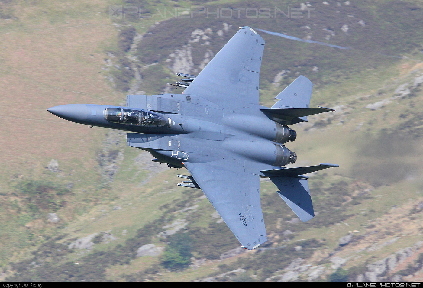 McDonnell Douglas F-15E Strike Eagle - 91-0326 operated by US Air Force (USAF) #mcdonnelldouglas #usaf #usairforce