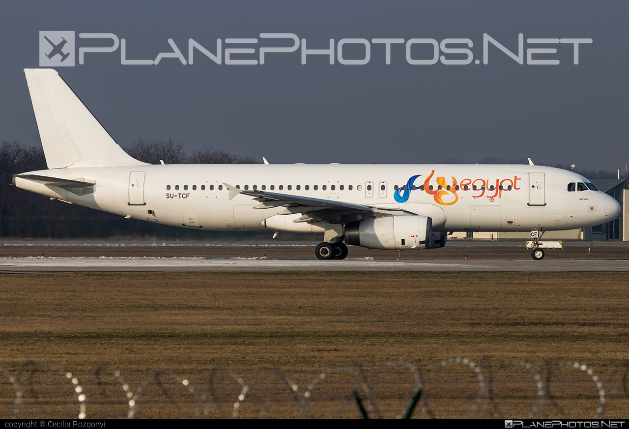 Airbus A320-232 - SU-TCF operated by FlyEgypt #a320 #a320family #airbus #airbus320