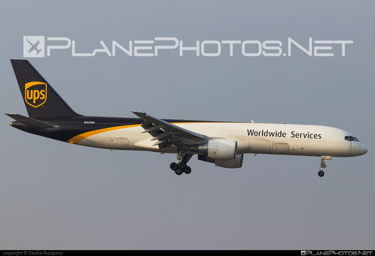 Boeing 757-200PF - N429UP operated by United Parcel Service (UPS) #b757 #boeing #boeing757 #ups #upsairlines