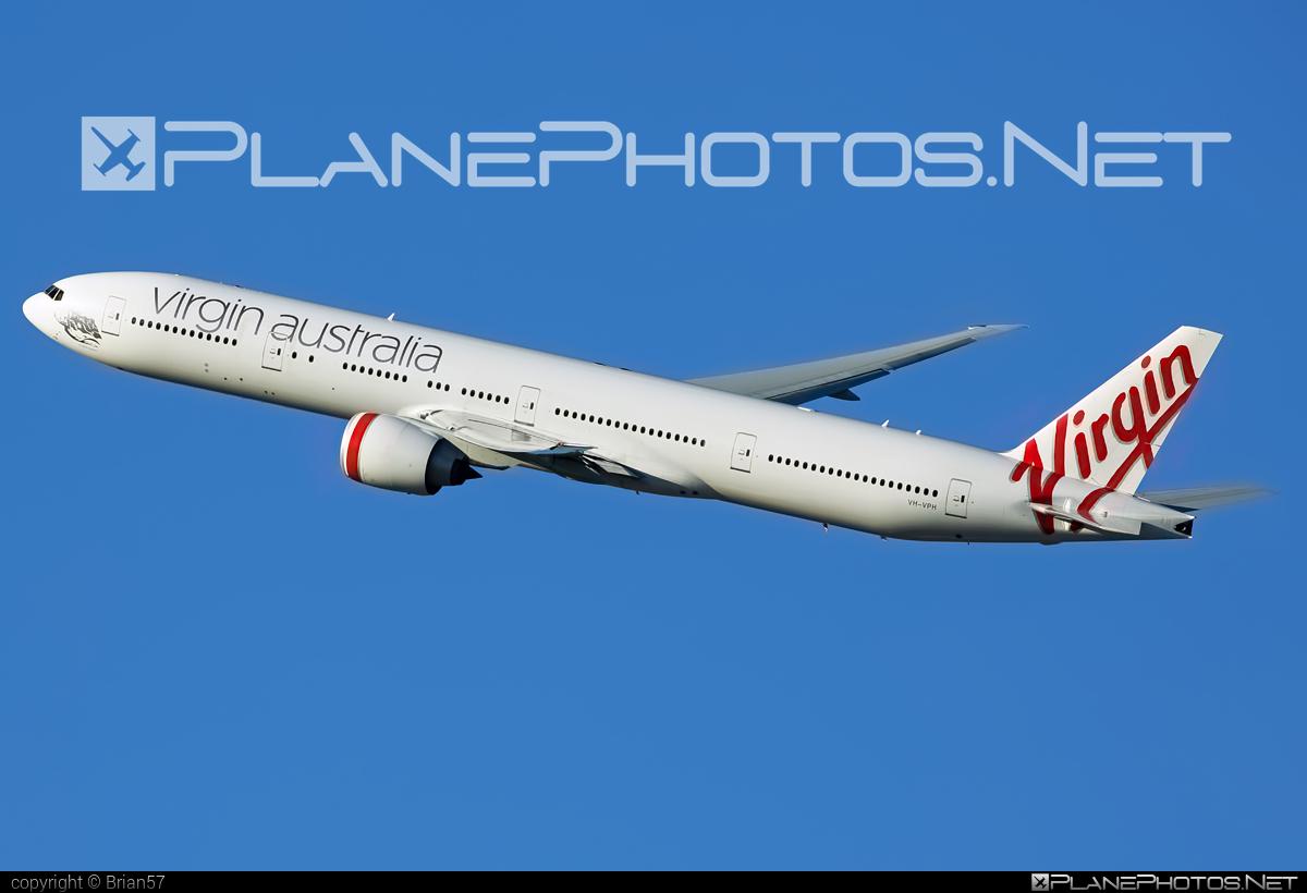 Boeing 777-300ER - VH-VPH operated by Virgin Australia Airlines #b777 #b777er #boeing #boeing777 #tripleseven #virginaustralia