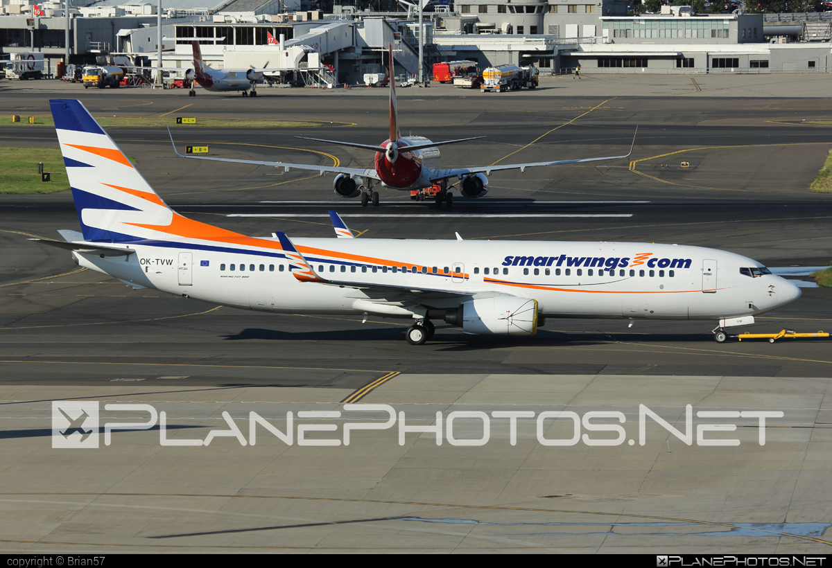 Boeing 737-800 - OK-TVW operated by Smart Wings #b737 #b737nextgen #b737ng #boeing #boeing737 #smartwings