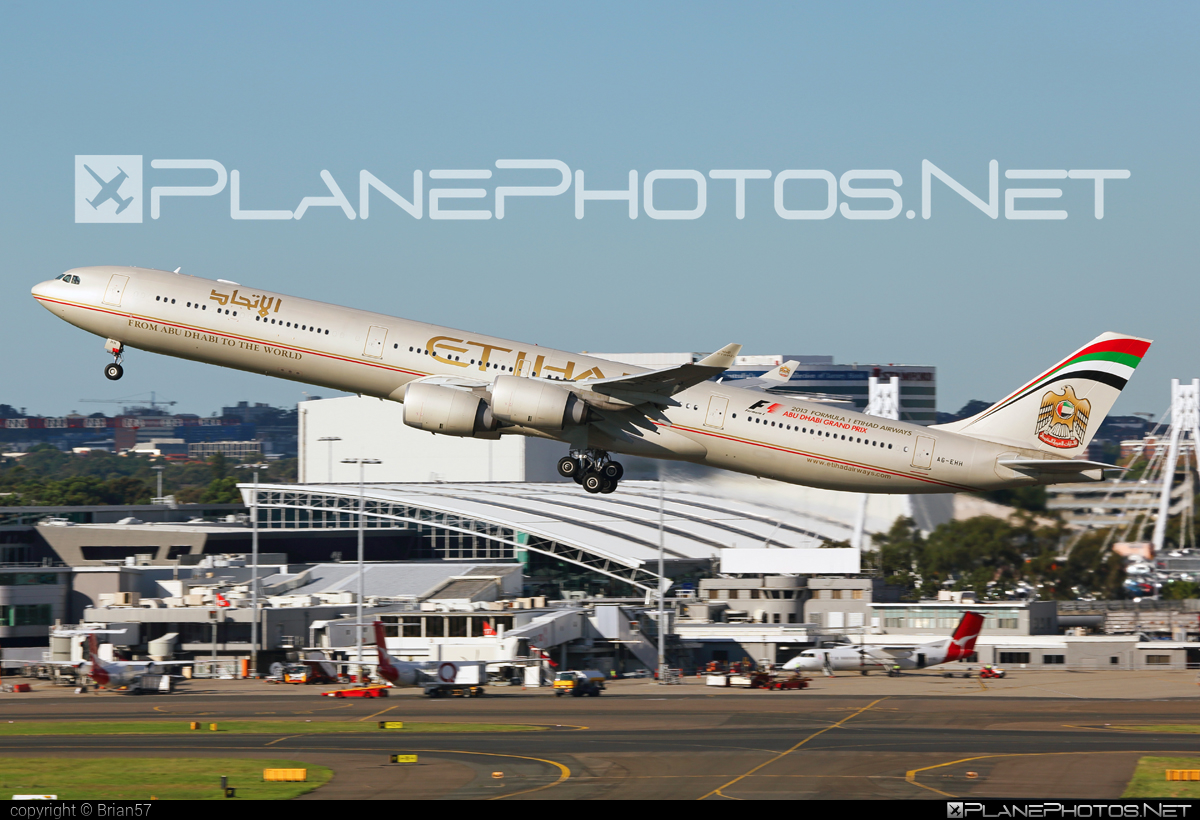 Airbus A340-642 - A6-EHH operated by Etihad Airways #a340 #a340family #airbus #airbus340 #etihad #etihadairways