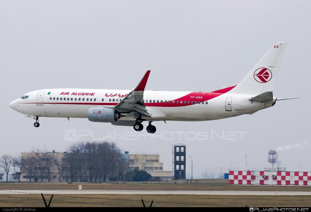 Boeing 737-800 - 7T-VKK operated by Air Algerie #b737 #b737nextgen #b737ng #boeing #boeing737