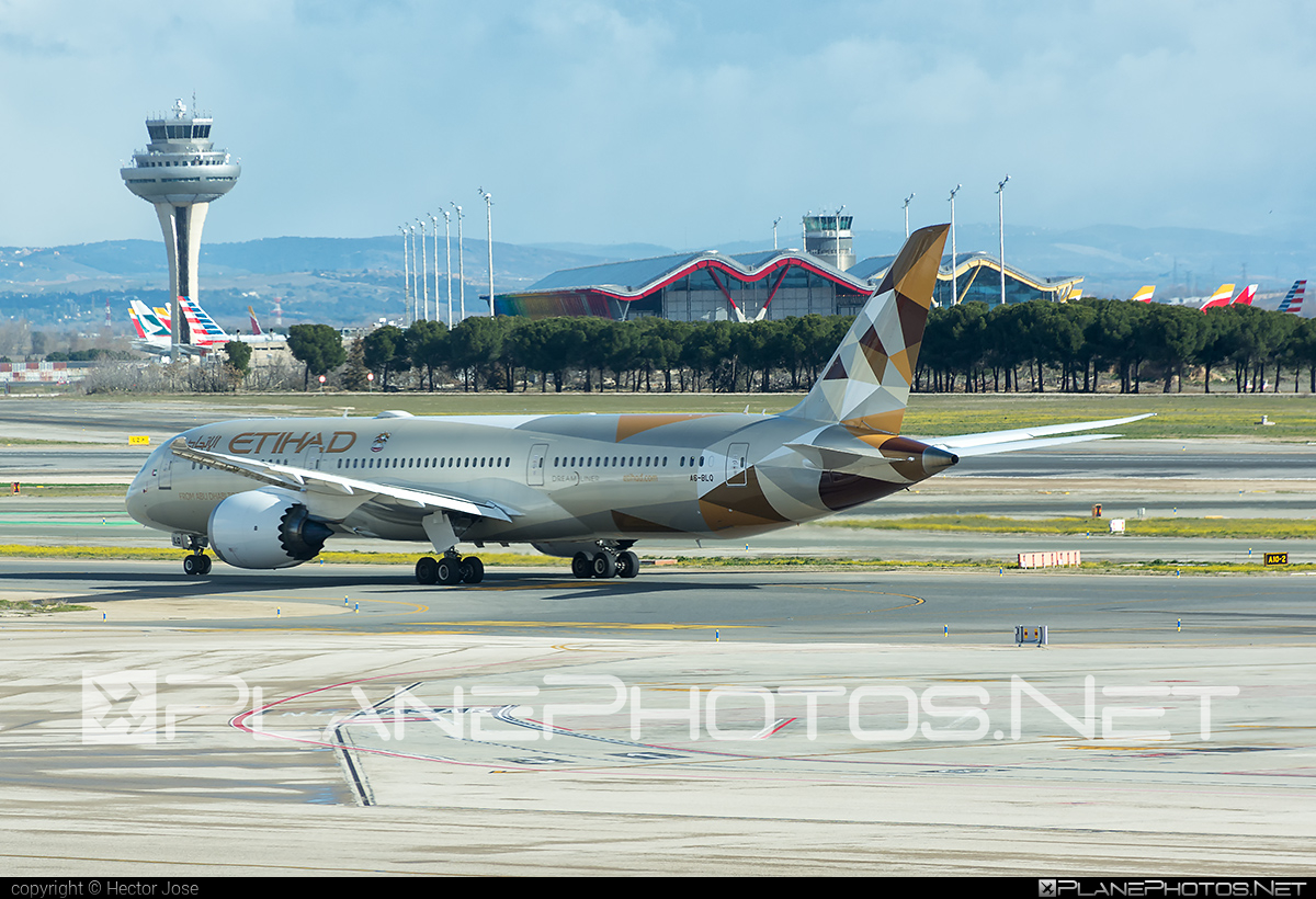 Boeing 787-9 Dreamliner - UNKNOWNA6-BLQ operated by Etihad Airways #b787 #boeing #boeing787 #dreamliner #etihad #etihadairways