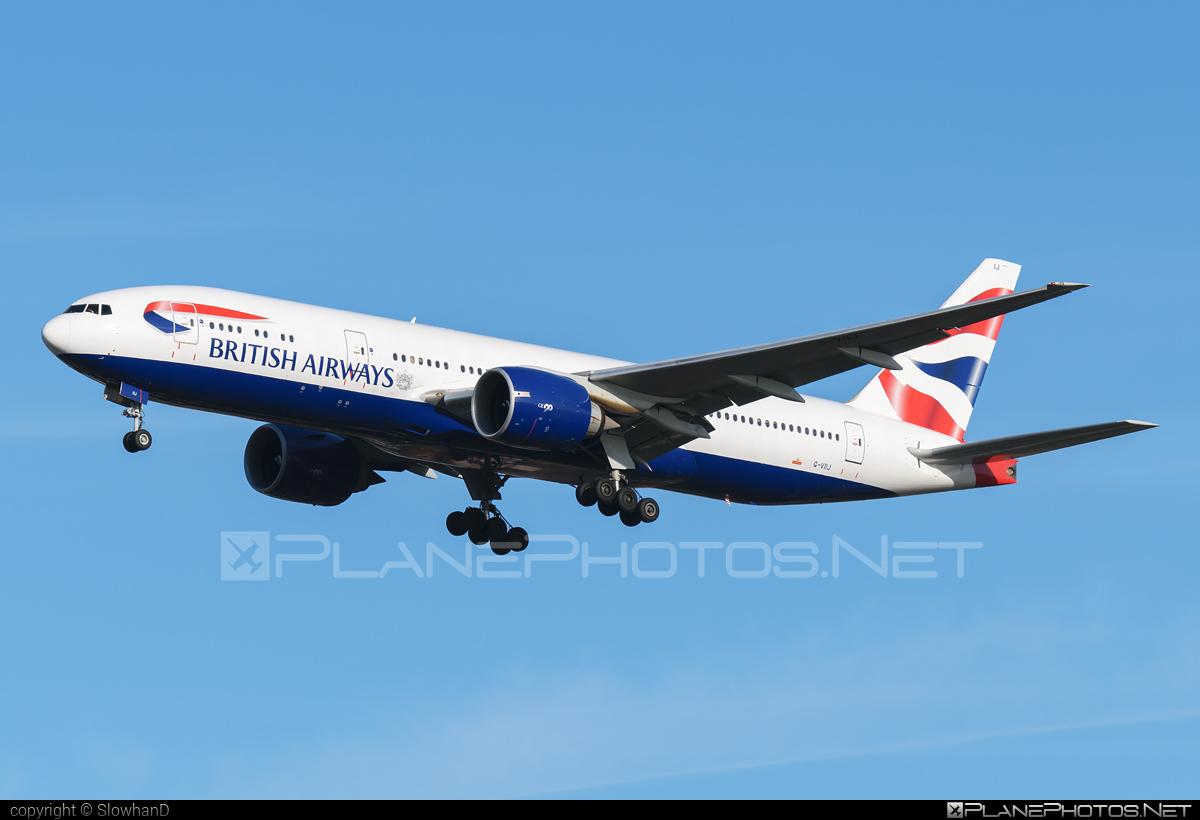 British Airways Boeing 777-200ER - G-VIIJ #b777 #b777er #boeing #boeing777 #britishairways #tripleseven