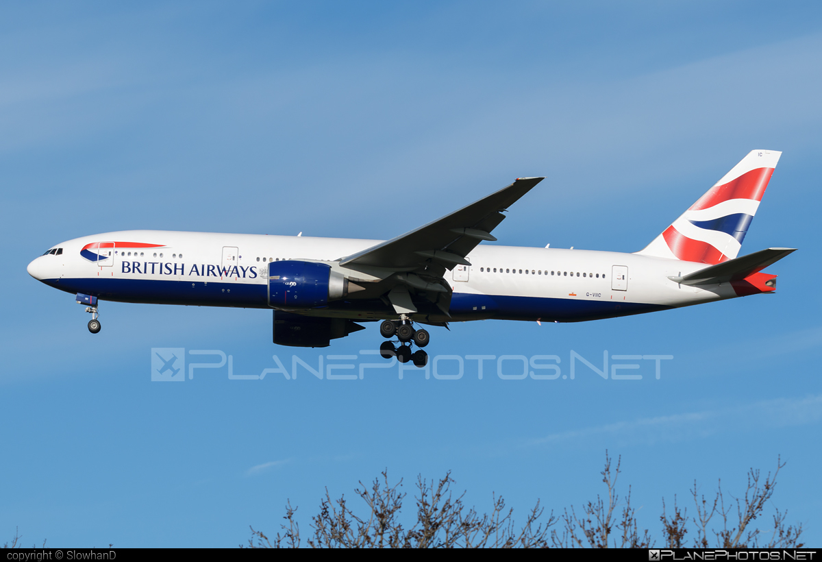 Boeing 777-200ER - G-VIIC operated by British Airways #b777 #b777er #boeing #boeing777 #britishairways #tripleseven