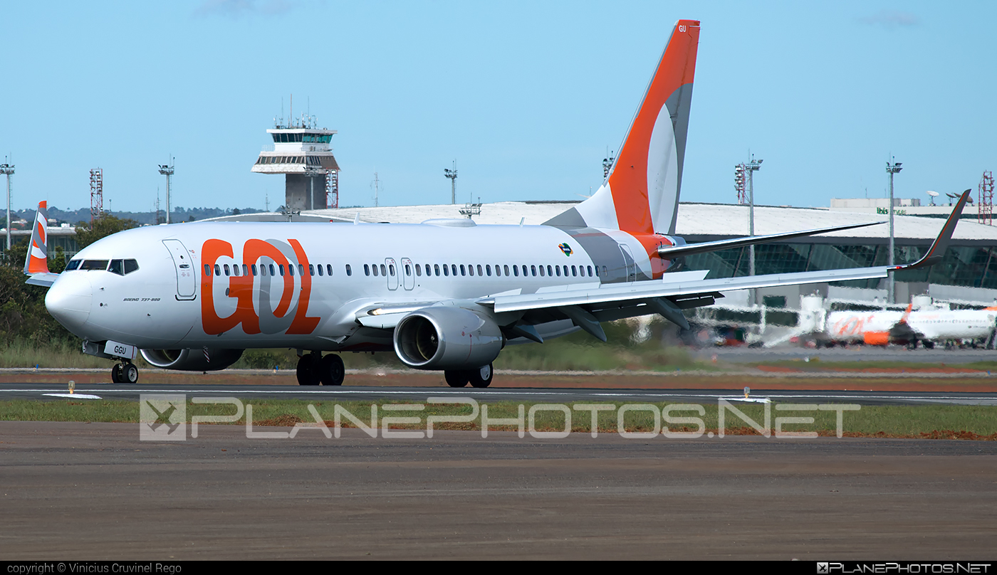 Boeing 737-800 - PR-GGU operated by GOL Linhas Aéreas Inteligentes #b737 #b737nextgen #b737ng #boeing #boeing737