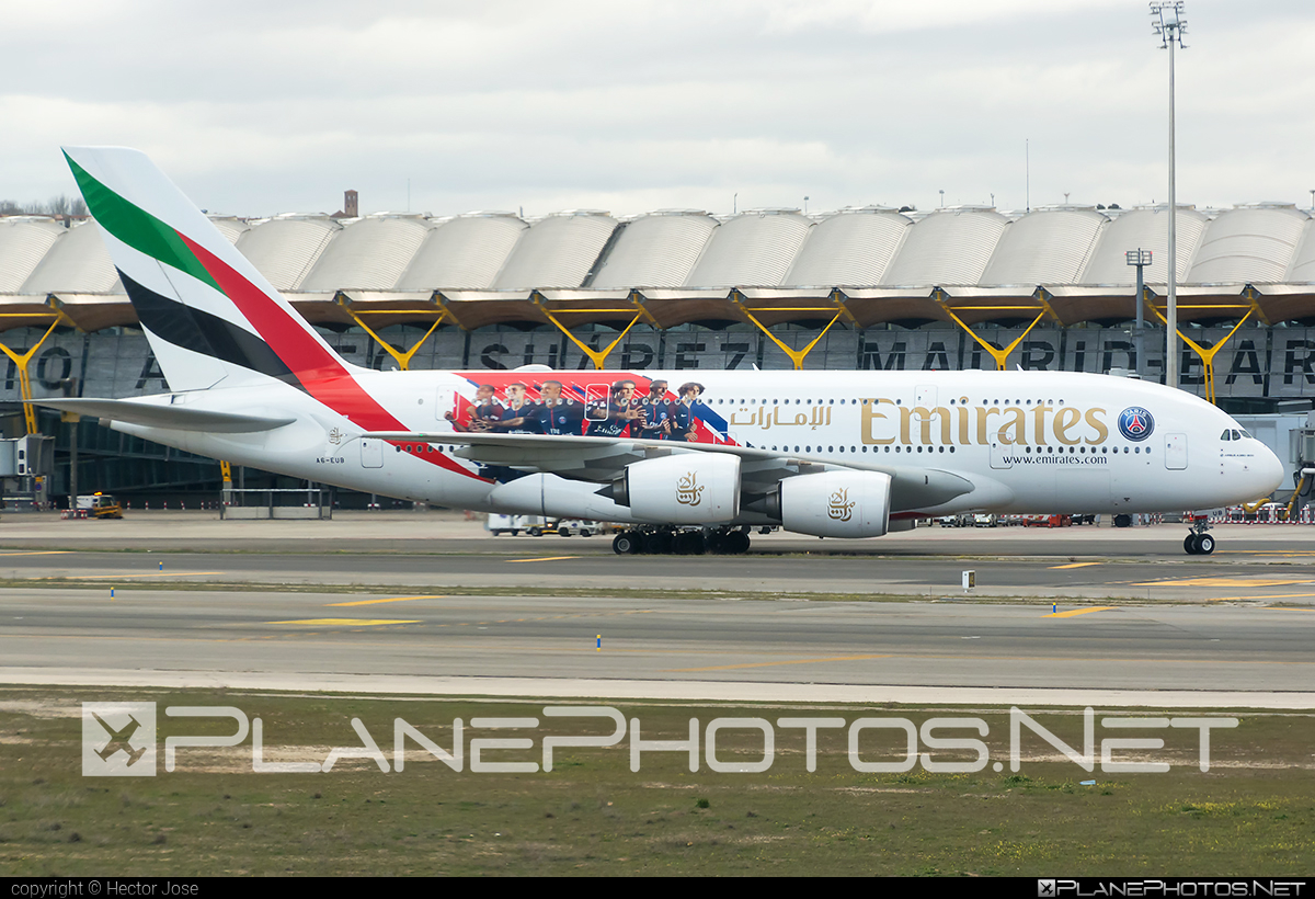 Airbus A380-861 - A6-EUB operated by Emirates #a380 #a380family #airbus #airbus380 #emirates
