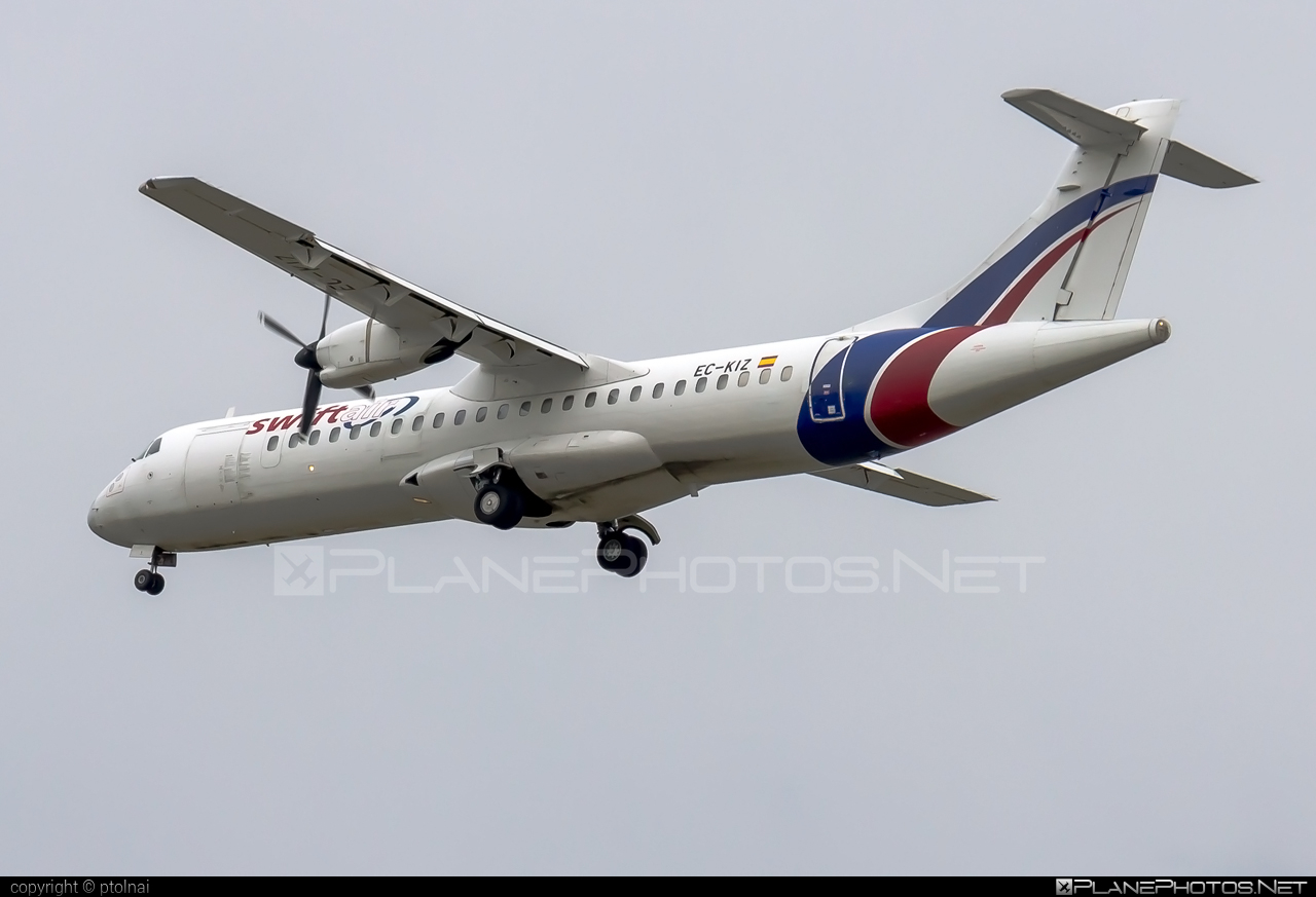 ATR 72-202(F) - EC-KIZ operated by Swiftair #atr