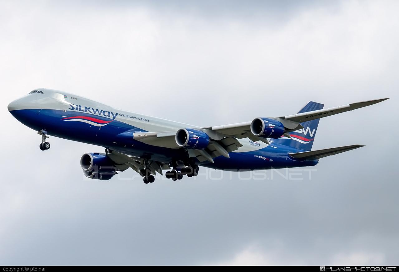 Boeing 747-8F - VQ-BWY operated by Silk Way West Airlines #b747 #b747f #b747freighter #boeing #boeing747 #jumbo #silkwayairlines #silkwaywestairlines